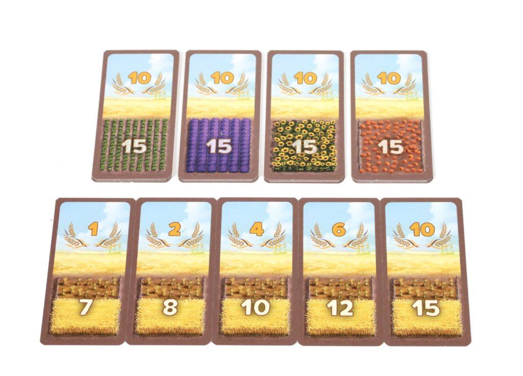 Karty zbiorów w grze Rolnicy