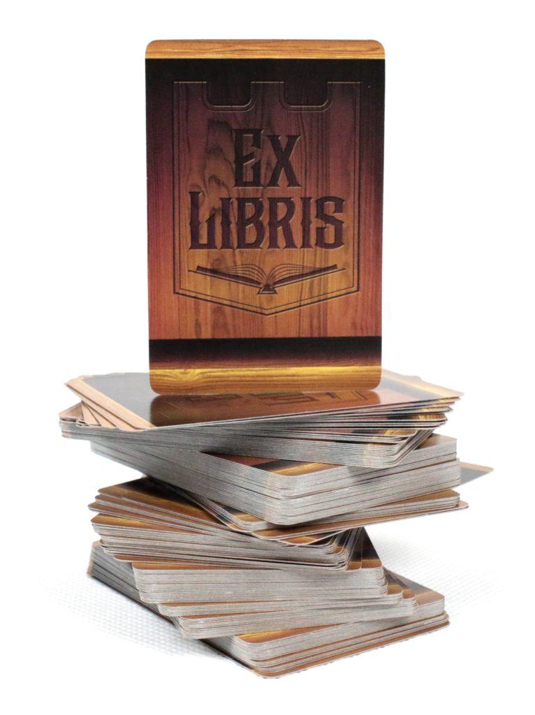 Karty książek Ex Libris