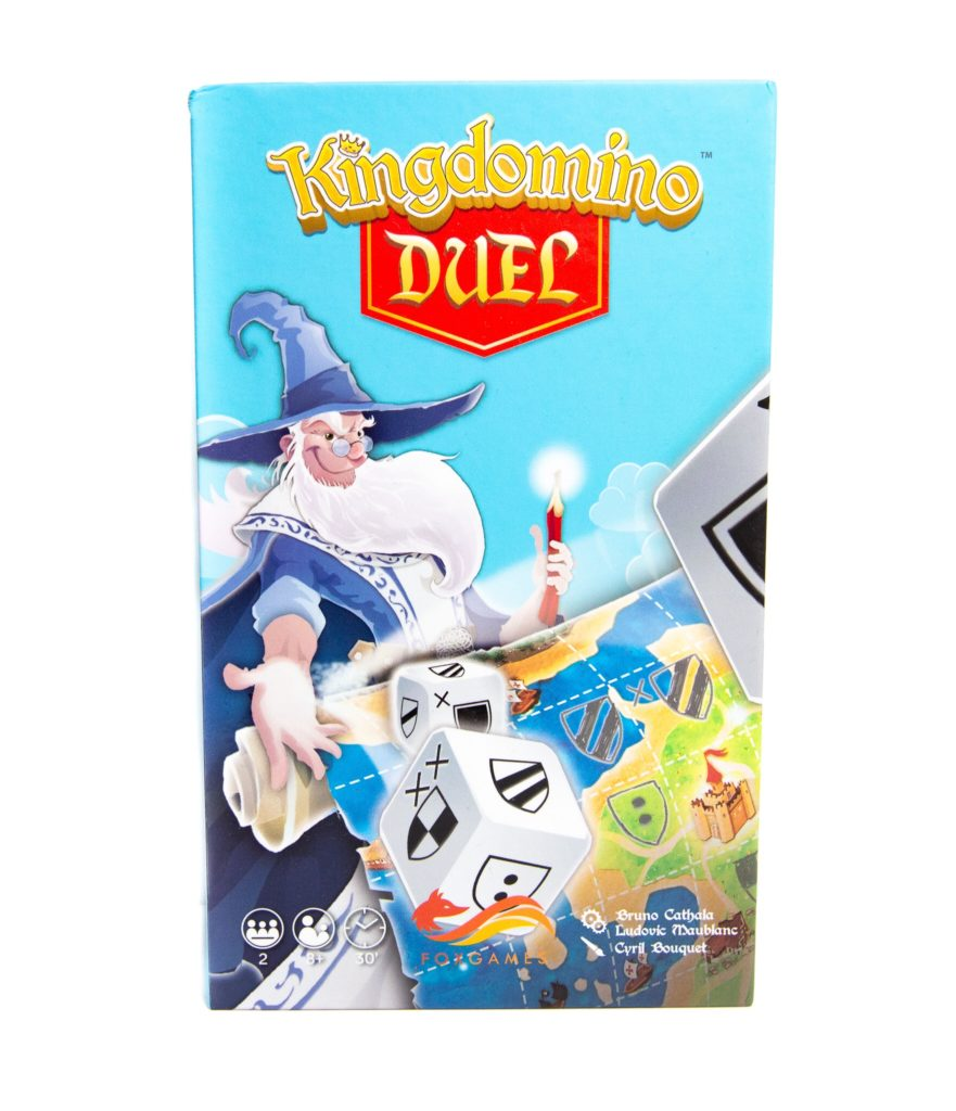 Kingdomino Duel - pudełko