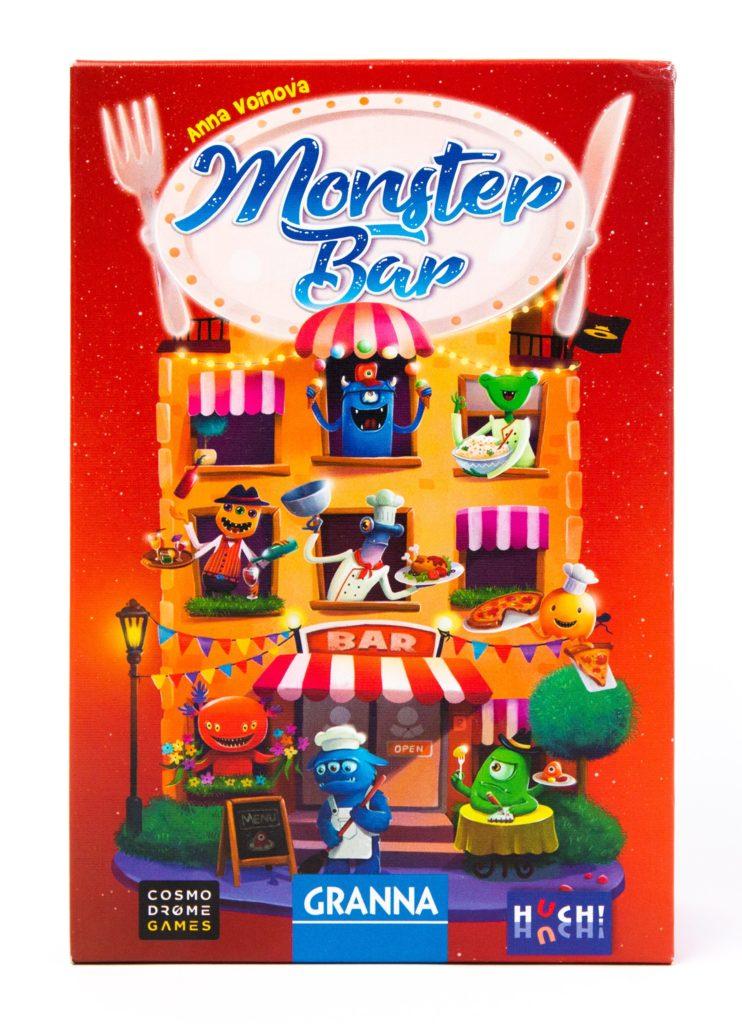 Monster Bar - pudełko