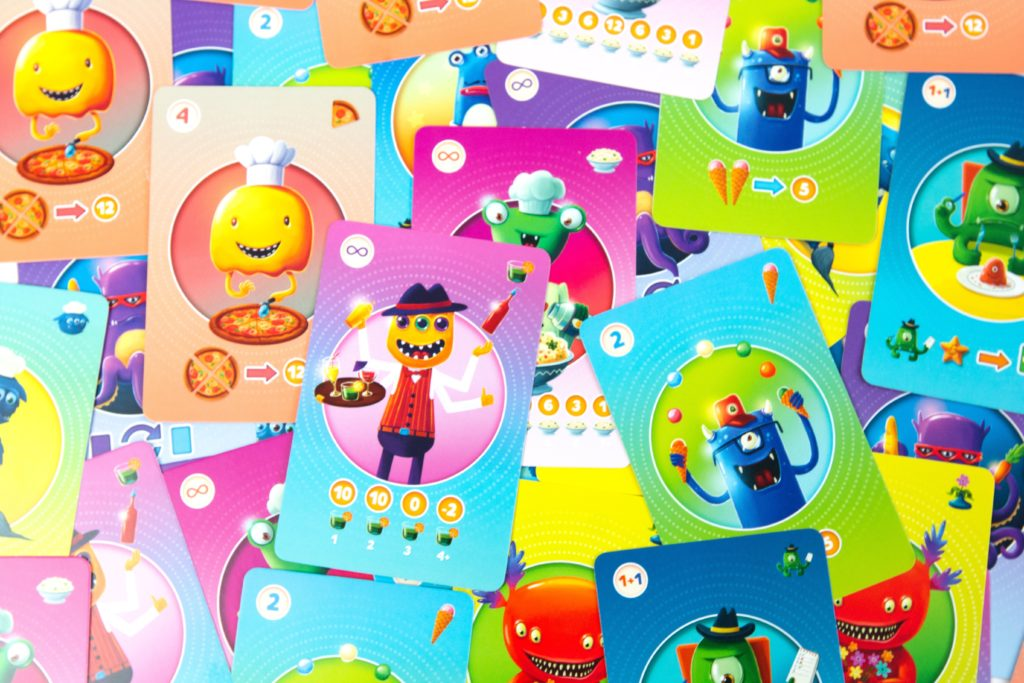 Monster Bar - karty