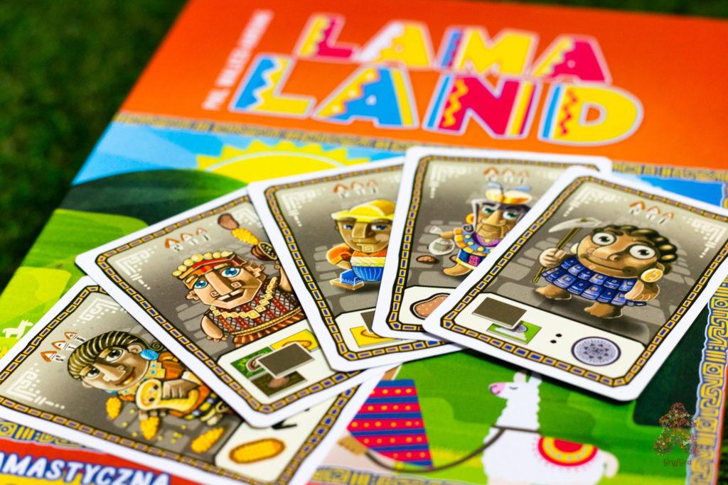 Lamaland - karty tubylców